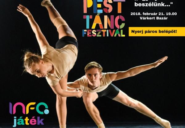 Nyerj jegyet a Budapest Táncfesztiválra!