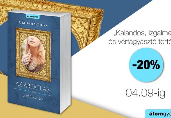 R. Kelényi Angelika: A párizsi nő – Az Ártatlan 3.