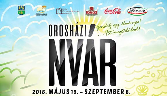 Orosházi Nyár 2018 – Színes programsorozat Orosháza-Gyopárosfürdőn
