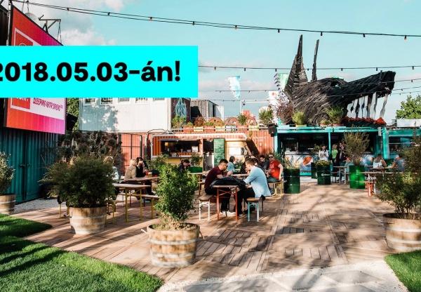 Nagy dobással készül a Budapest Park önálló kis szigete, a Nagyszünet