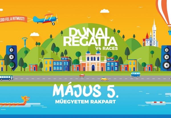Rekord részvétellel indul a hatodik Dunai Regatta
