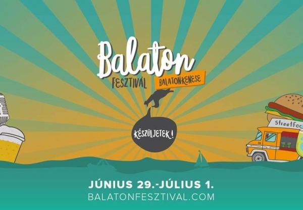 Június vége, Balaton Fesztivál eleje – irány Kenese a hétvégén!