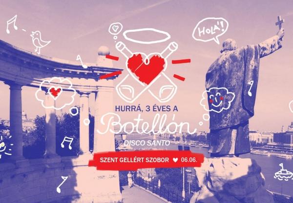 A hét legkötetlenebb eventje: Botellón – Disco Santo!