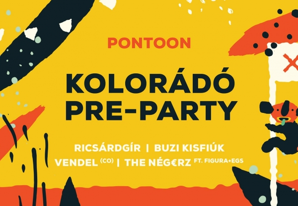 Kolorádó Pre-Party ⌇ a Pontoon-ban!