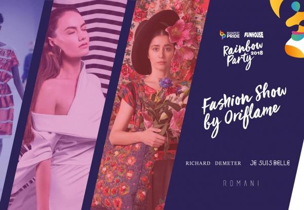A hétvége LEGje: Fashion Show by Oriflame – Budapest Pride Rainbow Party 2018