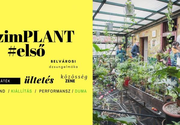 Szimplant – #első belvárosi dzsungelmóka