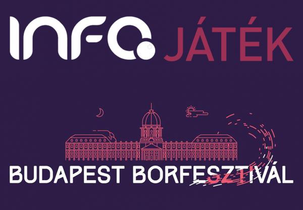 Játssz velünk és látogass el a Budapest Borfesztiválra!