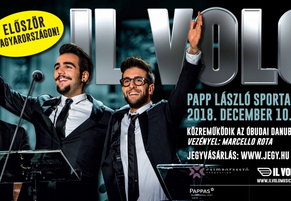 Először Magyarországon az Il Volo!