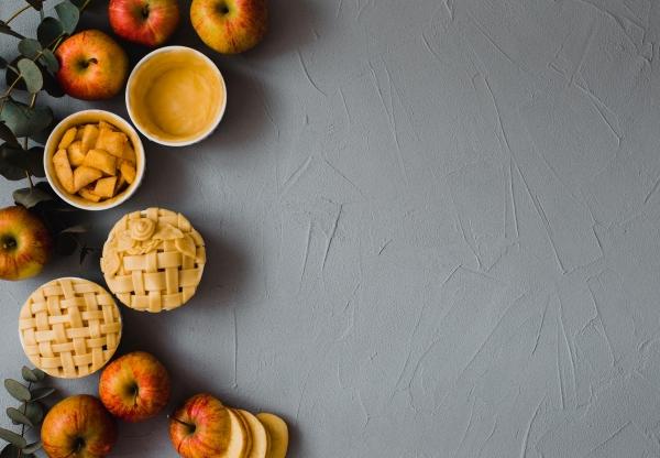 Ha szeptember, akkor…Mini rácsos almáspite!