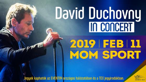 A Kaliforgia / X akták sztárja, David Duchovny Budapestre látogat!