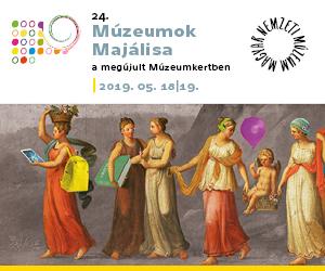 24. Múzeumok Majálisa a megújult Múzeumkertben