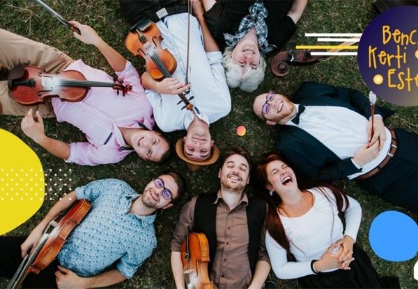 Népzenei koncertek a Benczúr Kerti Esték programsorozatot