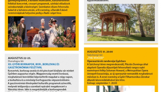 Győri programok