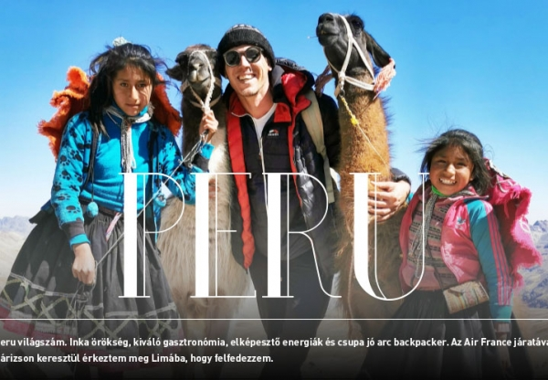 Peter's Planet Peruban járt