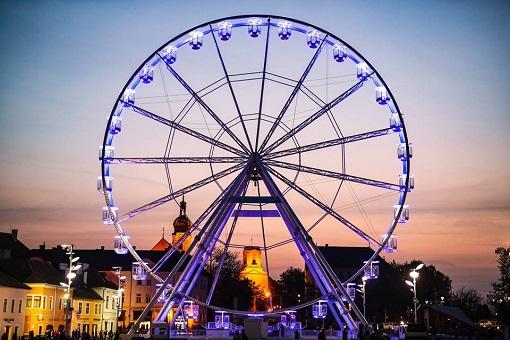 Visszatér az Óriáskerék Győrbe