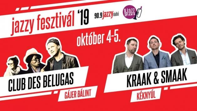 Jazzy Fesztivál lesz hétvégén!
