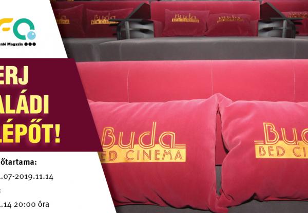 Nyerj családi belépőt a Buda Bed Cinemába – JÁTÉK!