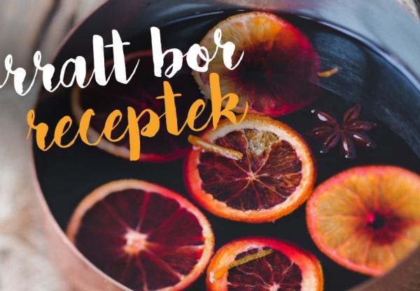 Forralt bor receptek