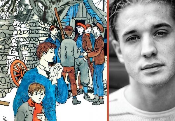 Vecsei H. Miklós dedikálja a Móra új A Pál utcai fiúk-hangoskönyvét