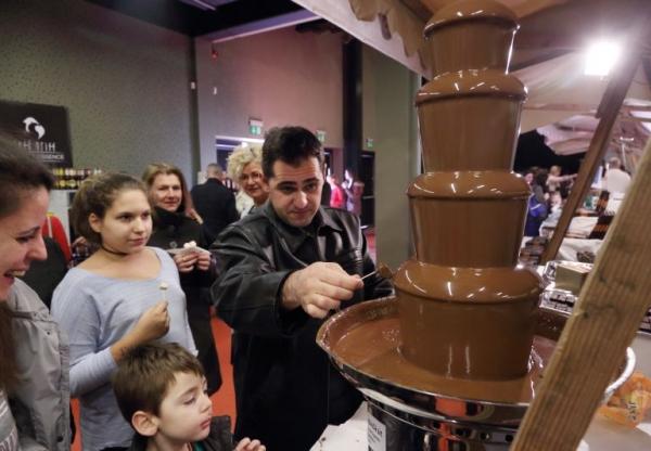 3D nyomtatással születik a csoki a Pécsi Csokoládé Karneválon