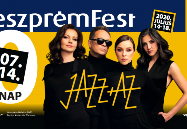 A VeszprémFesten folytatja a Jazz+Az!
