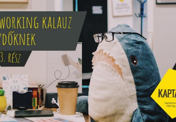 Coworking kalauz kezdőknek – 3. rész