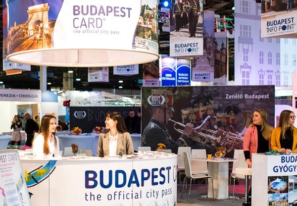 Színpadi programok és kvíz az utazás kiállítás Budapest standján