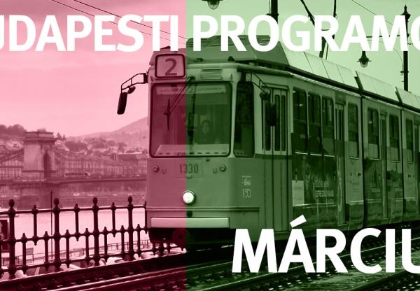 Budapesti programok – Március