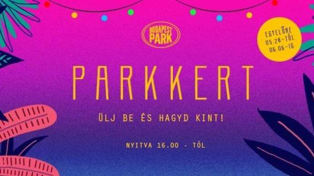 Nyit a ParkKert – Ülj be és hagyd kint!