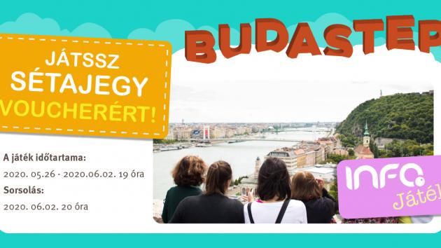 Nyereményjáték a Budastep sétálójegyéért!