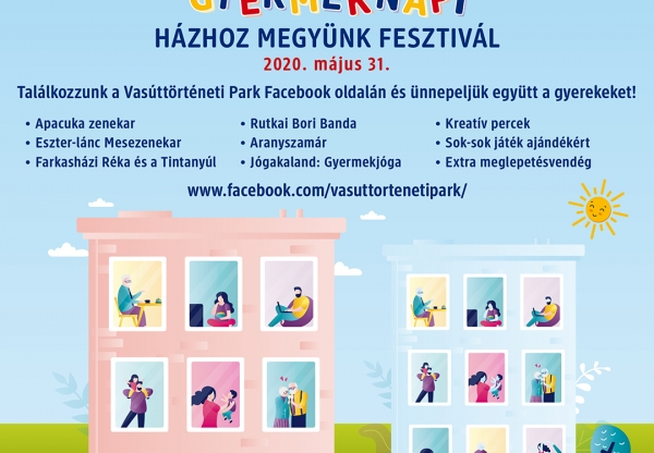 Gyereknapi online fesztivál a Vasúttörténeti Parkban