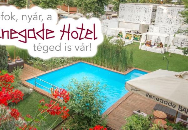 Siófok, nyár, a Renegade Hotel téged is vár!