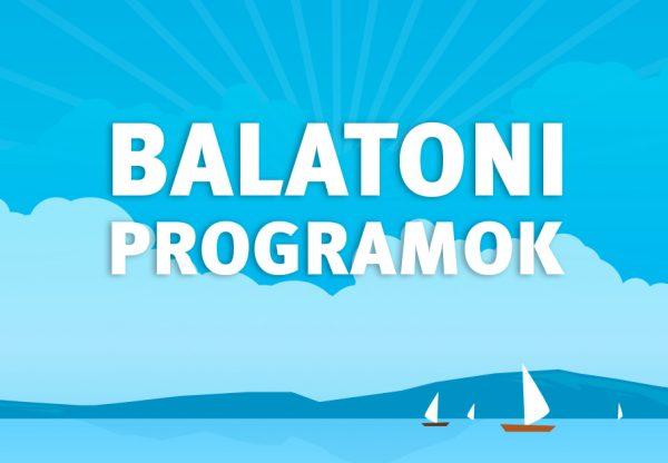 Balatoni programok – Július