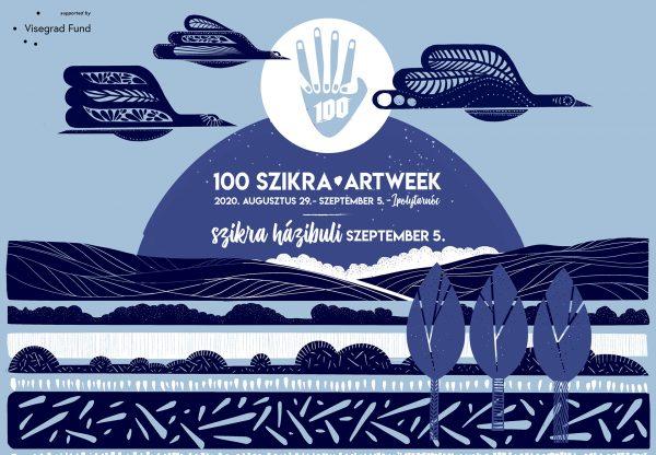 100 Szikra Alkotóhét és házibuli 2020. augusztus 29. – szeptember 5., Ipolytarnóc