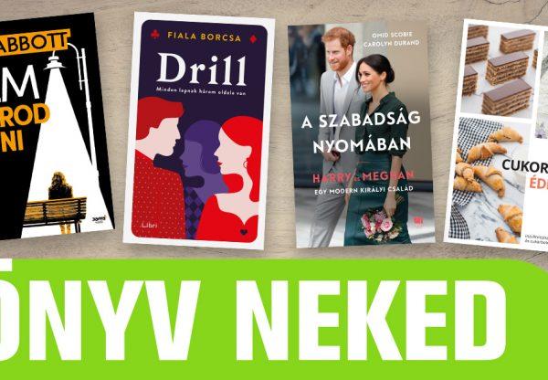 Könyv NEKED – Augusztus