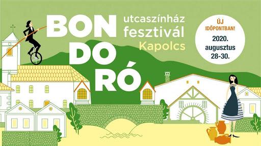 UTCASZÍNHÁZ FESZTIVÁL KAPOLCSON 2020. AUGUSZTUS 28-30.