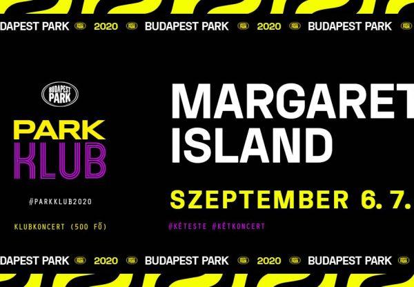 Margaret Island klubkoncertje a Budapest Parkban