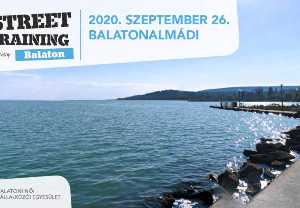 Street training a Balatonon – Tanulni bárhol, bármikor, bárkitől lehet!
