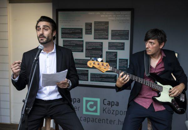 Pillanatképek Robert Capa életéből – Adorjáni Bálint és Szőke Barna előadása a Budapest Parkban