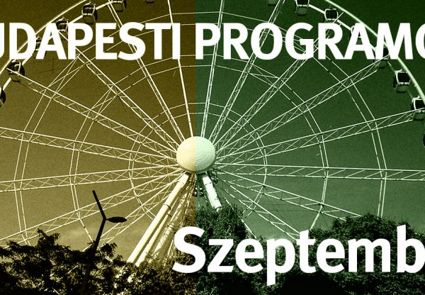 Budapesti programok szeptemberben