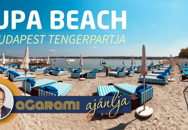 Lupa Beach – Budapest tengerpartja
