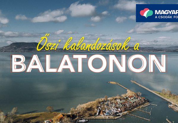 Őszi kalandozások a Balatonon