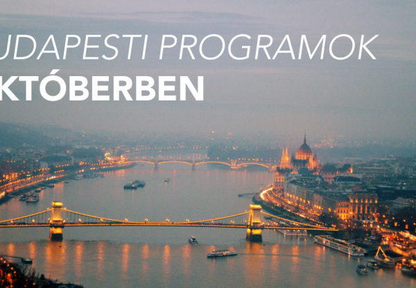 Októberi programok Budapesten
