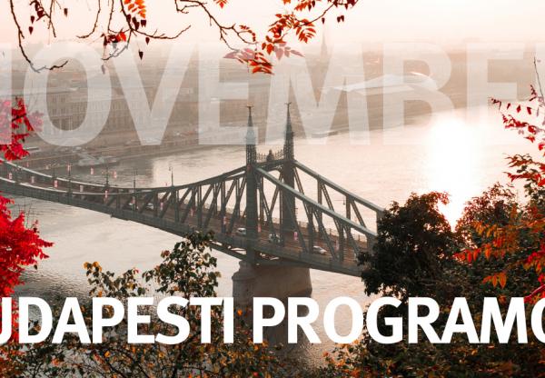 Budapesti Programajánló – november