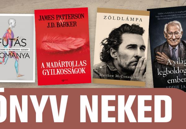 Könyv Neked – Áprilisra