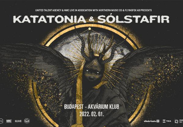 Különleges együttállás – Katatonia + Sólstafir Budapesten!