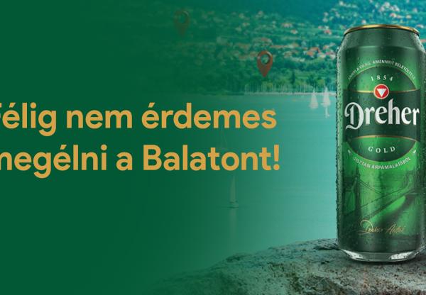 Félig nem érdemes megélni a Balatont!