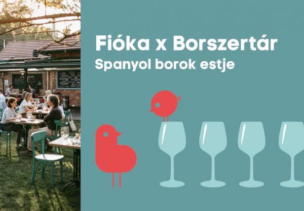 Spanyol borok estje – Fióka X Borszertár