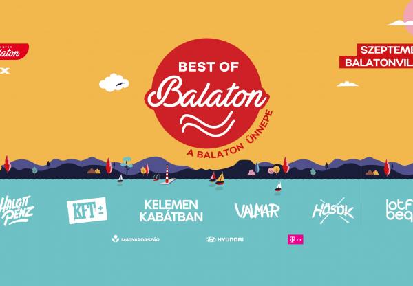 Egy napos fesztivállal, a Balaton Ünnepével zárul az idei Best of Balaton
