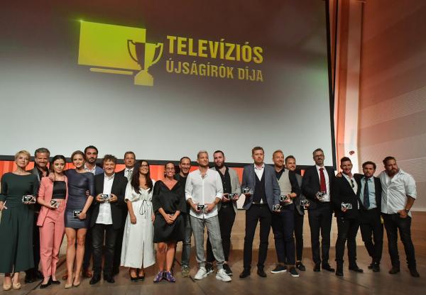 Ők nyerték a Televíziós Újságírók Díját